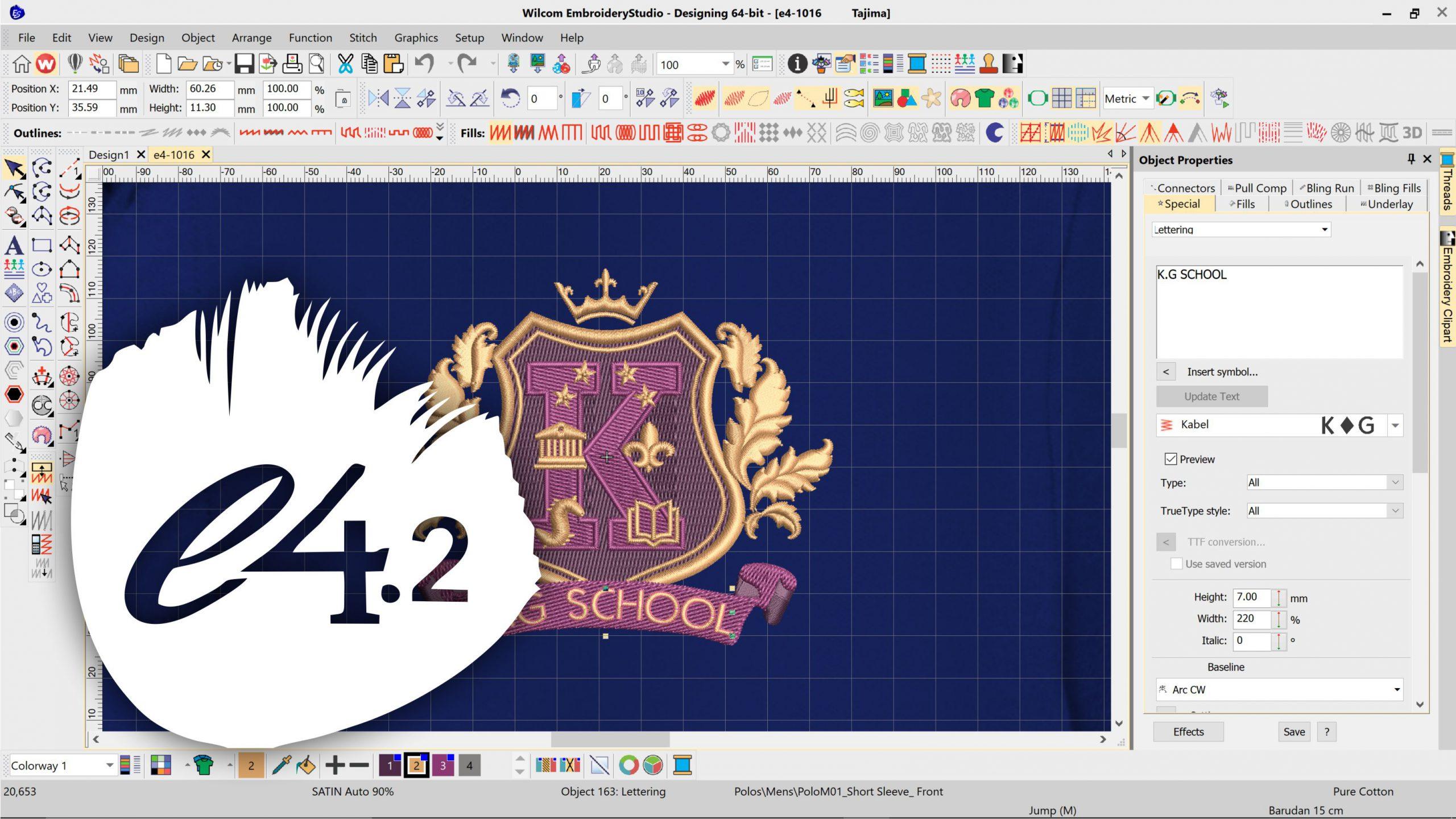 Wilcom Embroidery Studio E4.2 Full Version Cracked – NewFullSoft